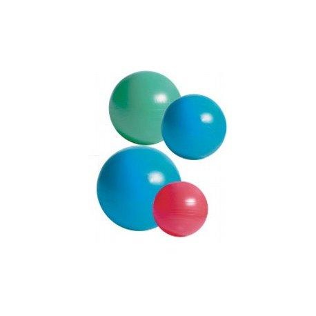 GYM Ball 55 cm odolné ABS provedení + hustilka, gymnastický velký cvičební míč