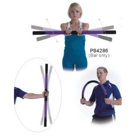 Pilates flex bar gymnastická tyč stick