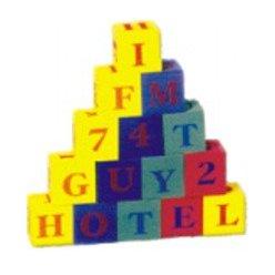 Kostky abeceda + čísla - EVA pěna