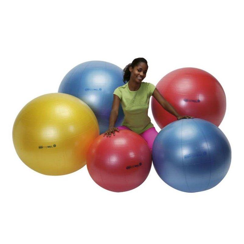 Velký značkový míč Body Ball pomáhá odstraňovat bolesti v dolní části zad