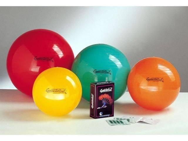 b6e3a2ba5cd88 Gymnastikball PEZZI - LEDRAGOMMA - velký balanční míč pro domácí posilování  a protahování