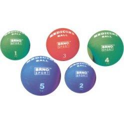 Medicinální míč 3 kg medicinball gumový, medicinka
