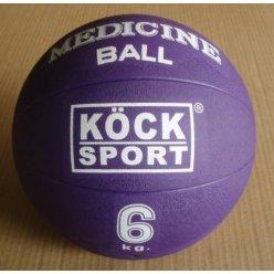 Medicinální míč 6kg gumový