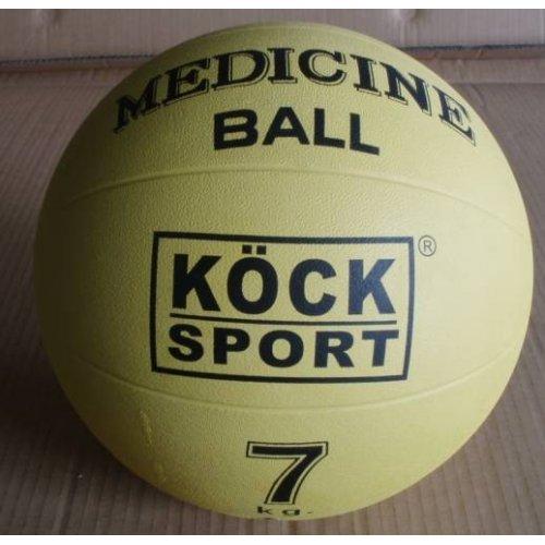 Medicinální míč 7kg, gumový