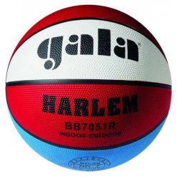 Míč basketbalový Gala Harlem 7 gumový barevný