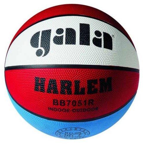 Míč basketbalový Gala Harlem BB7051R gumový barevný