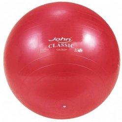 Velký cvičební míč Classic gymnastikball John - 65 cm v červené barvě