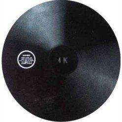 Disk gumový 1000g atletický treninkový
