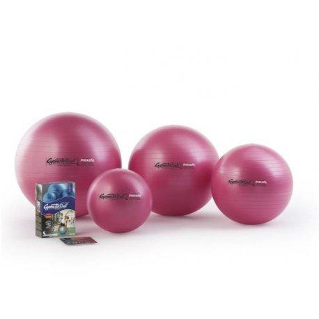 Velký nafukovací míč k posilování břišních a zádových svalů