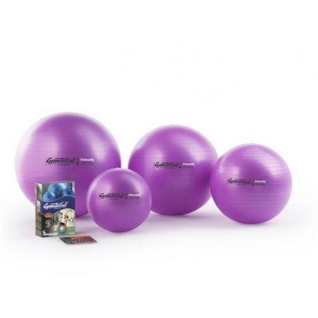 Gymnastický míč Ledragomma na sezení a posilování svalů okolo páteře