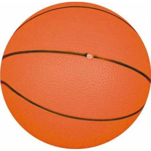 Míč dětský košíková 16cm basketball vinyl