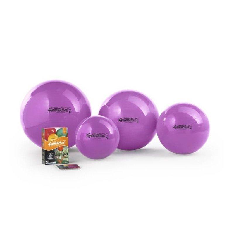 Gymnastikball má využití při cvičení a zpevňování těla