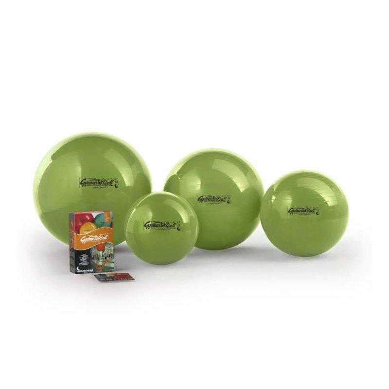 Sportovní nafukovací míč se využívá ke kondičnímu cvičení, ale i k rehabilitaci