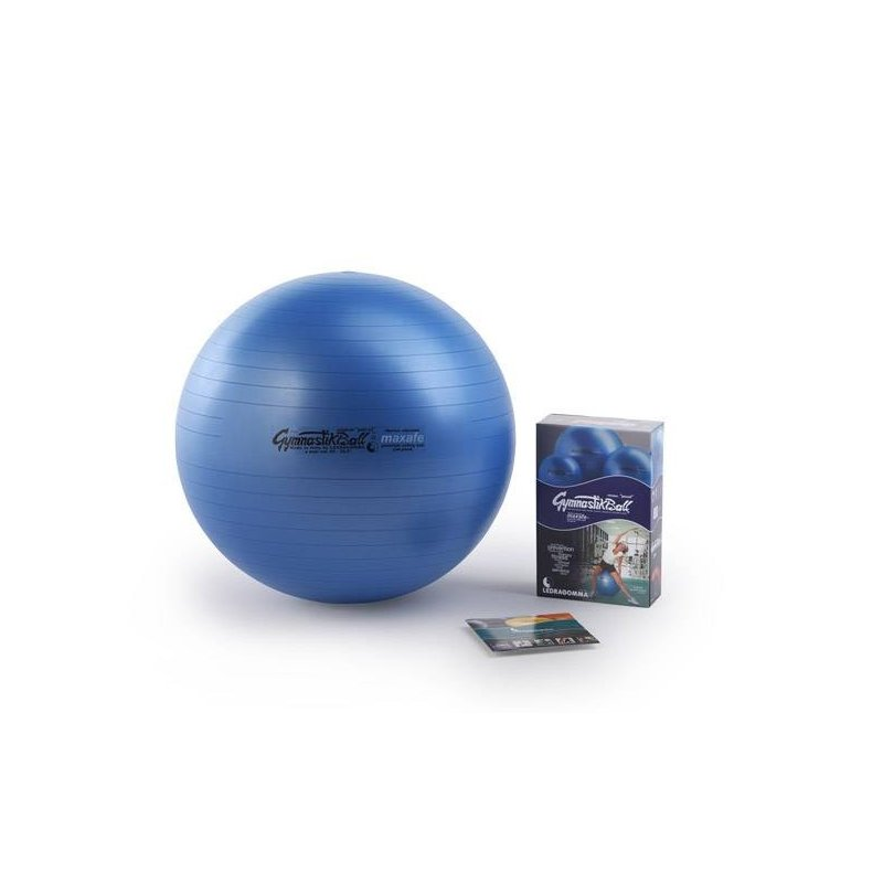 Cvičební míč 53 cm na posilování zádových a břišních svalů