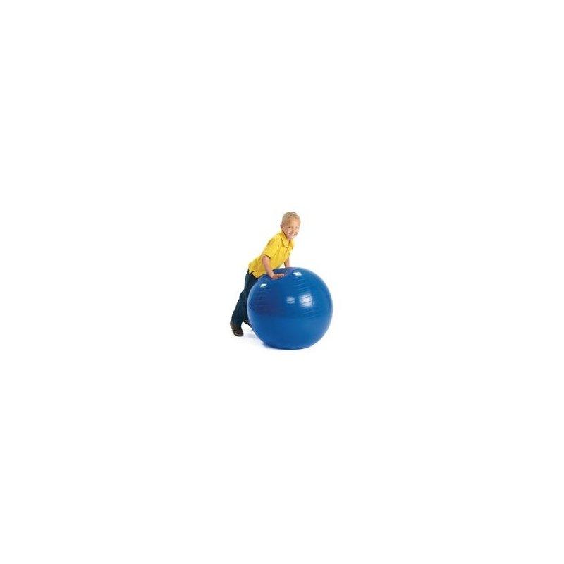 Gymnastikball je výborná pomůcka pro domácí cvičení