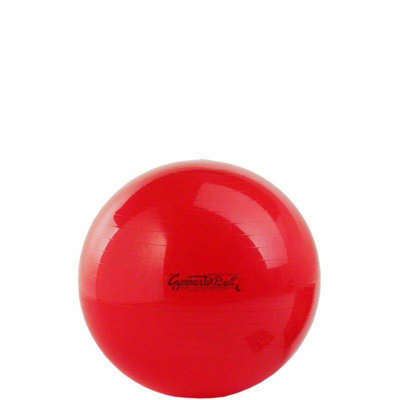 Velký nafukovací míč slouží k posilování hýžďových svalů i svalů nohou