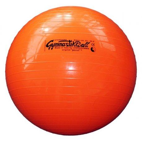 Oranžový nafukovací míč k posilování