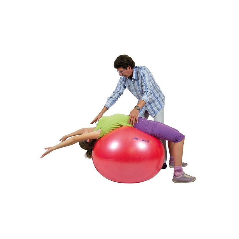 Velký gymnastický míč k sezení a kondičnímu cvičení