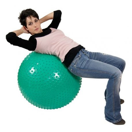 Zelený cvičební míč od Gymnicu