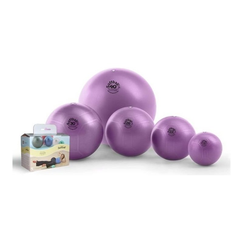 Aerobic Ball 30 cm - LEDRAGOMMA - fialový overball