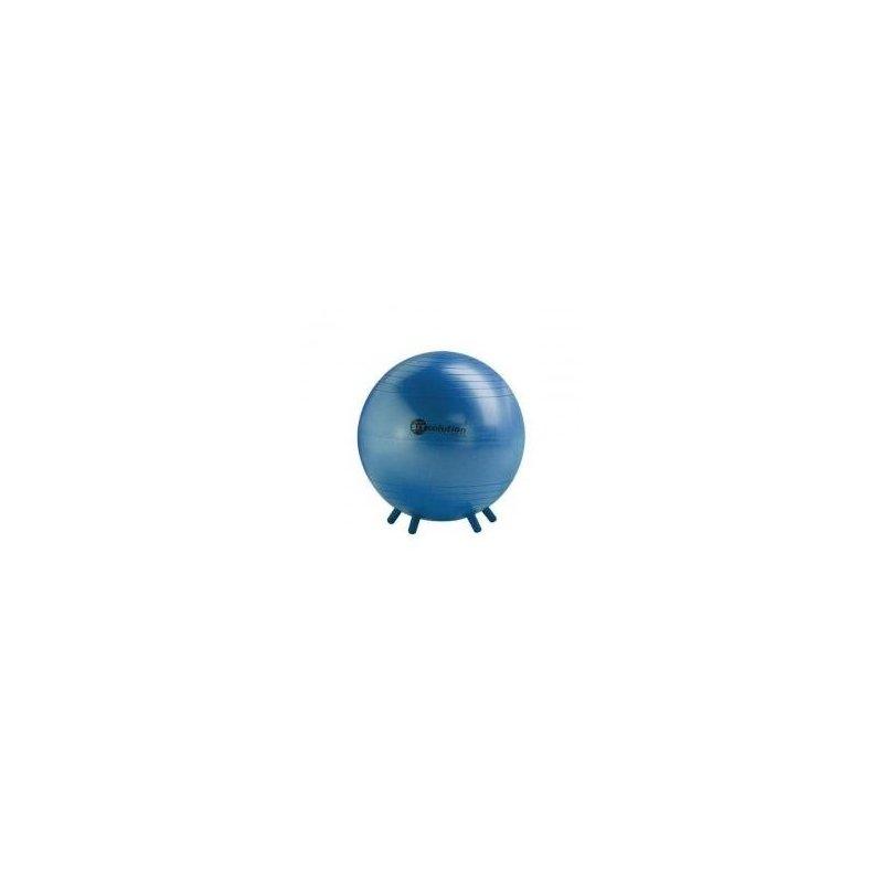 Gymnastický míč s gumovými nožičkami