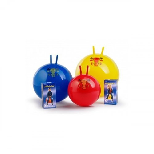 Skákací míč Globetrotter Junior 42 cm - LEDRAGOMMA