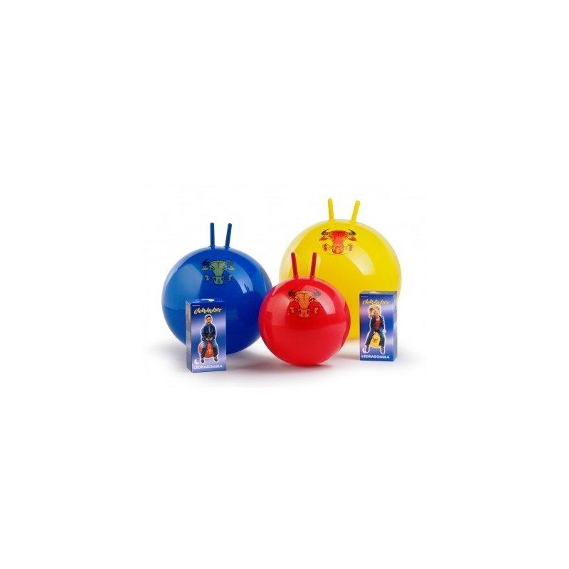 Dětský míč Globetrotter Junior - cvičební míč s úchyty