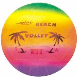 Míč volejbal Beach Duha soft guma