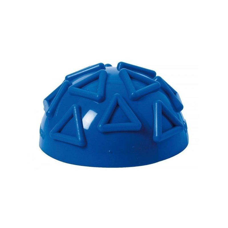 Modrá cvičební poločočka pro zpevnění svalstva