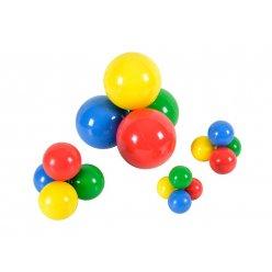 Barevné malé míčky na hraní od Gymnicu