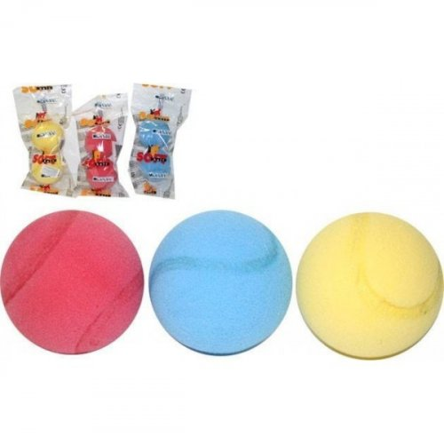 Set porézních míčků s prolisem 3 ks - 7 cm