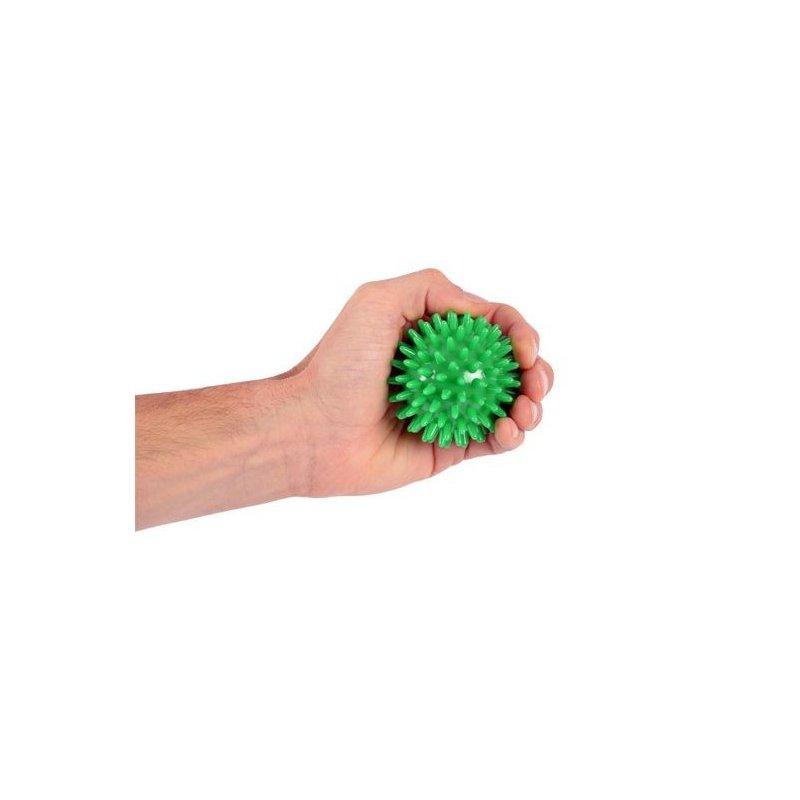 Příjemný masážní míček s oblými výstupy