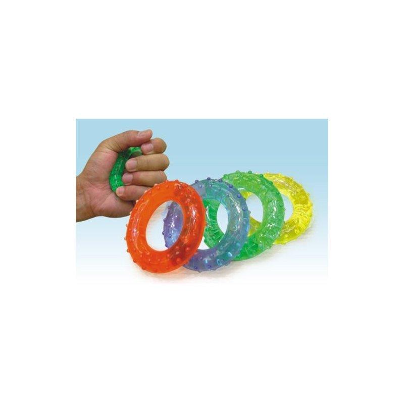 Gelové kroužky na posilování - pár