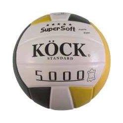 Míč volejbal STANDARD pravá kůže 5000 super soft