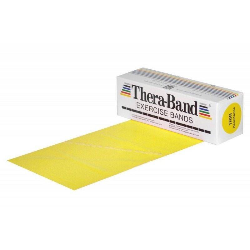 Žlutý pás na posilování