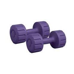 Činka BD 102 2 x 2,0 kg - fialová