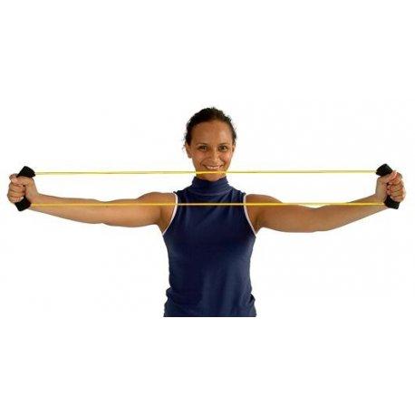 Spojený tubing do kruhu k posilování horních i dolních končetin
