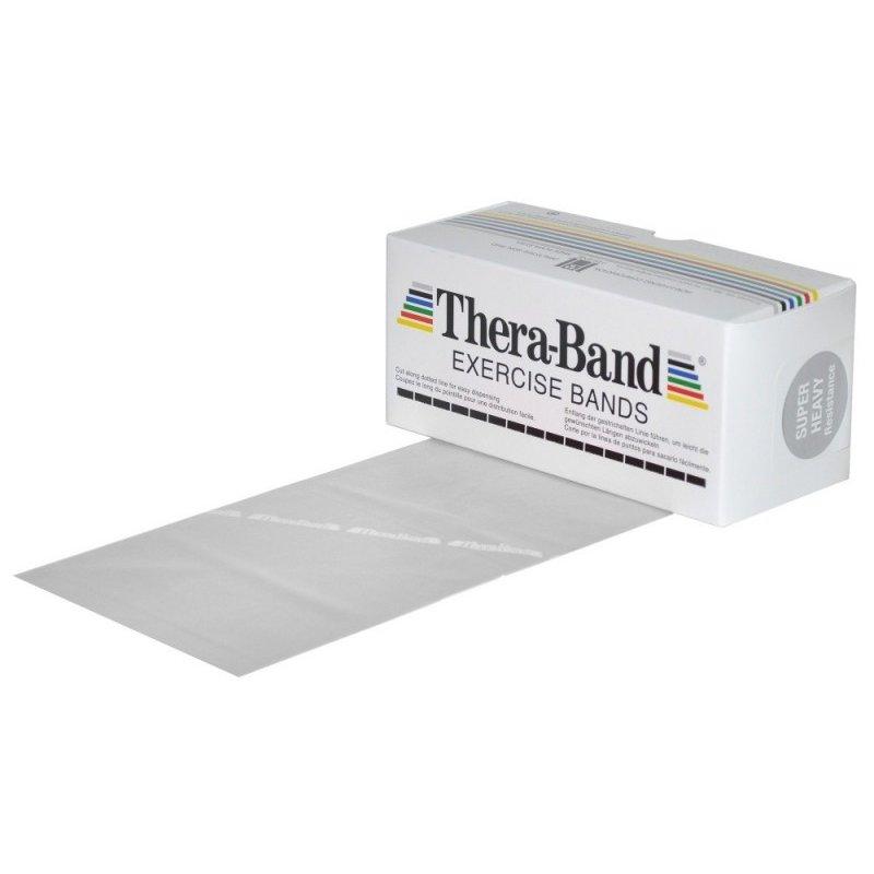Stříbrná posilovací guma Thera Band