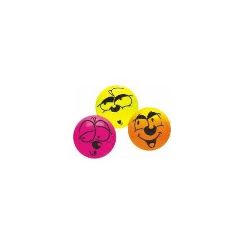 Dětský míč - veselý obličej 22 cm - JOHN