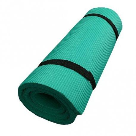 Zelená podložka na cvičení