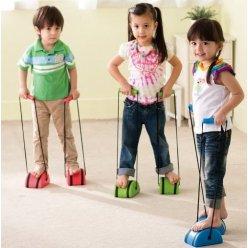 Dětské chůdy - netradiční cvičební pomůcka