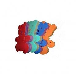 Různě barevné kombinace plaveckých desek