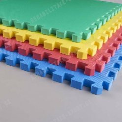 Žíněnka Eva TOP kvalita 100 x 100 x 2,3 cm - různé barvy