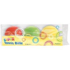 Set hladkých míčků s prolisem