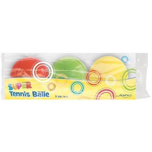 Set hladkých míčků s prolisem 3 ks - 7 cm