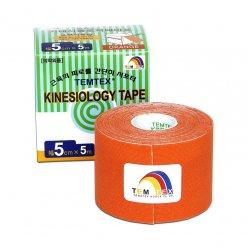 TEMTEX kinesio tape Classic, oranžová tejpovací páska 5cm x 5m