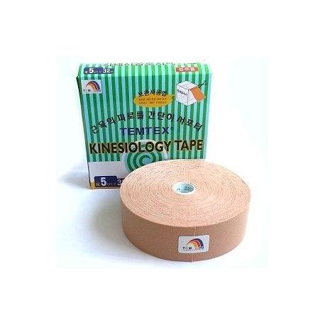 TEMTEX kinesio tape Classic XL, béžová tejpovací páska 5cm x 32m- ekonomické balení