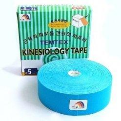 TEMTEX kinesio tape Classic XL, modrá tejpovací páska 5cm x 32m- ekonomické balení