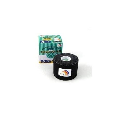 TEMTEX kinesio tape Tourmaline, černá tejpovací páska 5cm x 5m