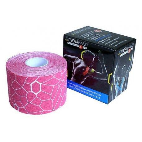 TheraBand™ Kinesiology Tape, růžová 5cm x 5m